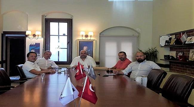 UKRAYNA'NIN İSTANBUL BAŞKONSOLOSU GAMAN'DAN ÇASİAD'A ZİYARET