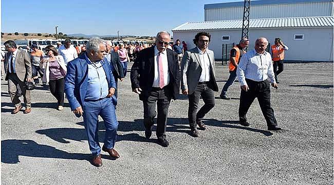 ATIK TOPLAMA OPERASYON MERKEZİ TÖRENLE AÇILDI