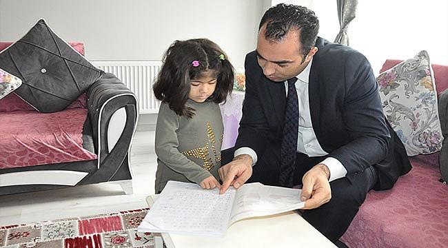 EVDE EĞİTİM ÖĞRENCİSİ İREM MATUR'A ZİYARET