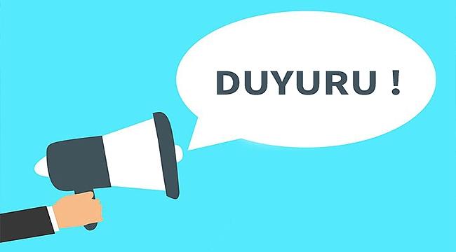 ÇANAKKALE BELEDİYESİ'NDEN ÖNEMLİ DUYURU!