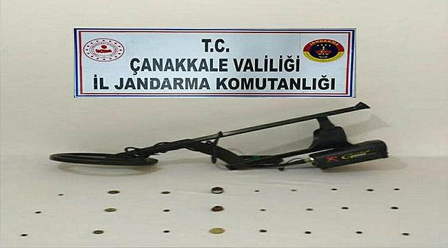 EMEKLİ POLİS DEFİNE ARARKEN YAKALANDI!