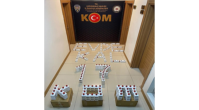 155 TANE SAHTE DEZENFEKTAN ELE GEÇİRİLDİ!