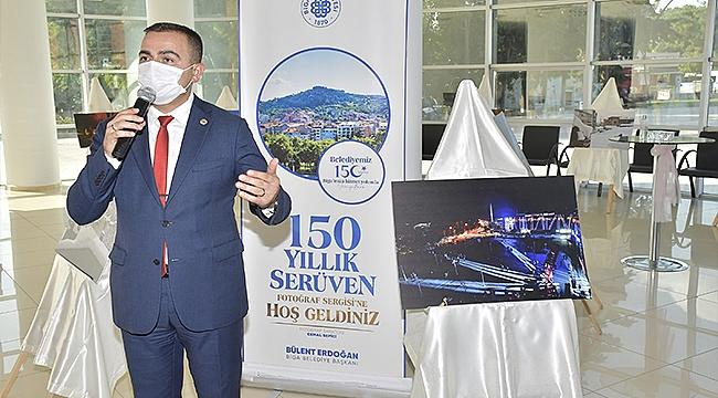150 YILLIK SERÜVEN FOTOĞRAF SERGİSİ AÇILDI