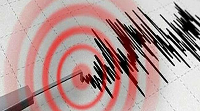 Ege Denizi'nde 5,3 şiddetinde deprem oldu.!
