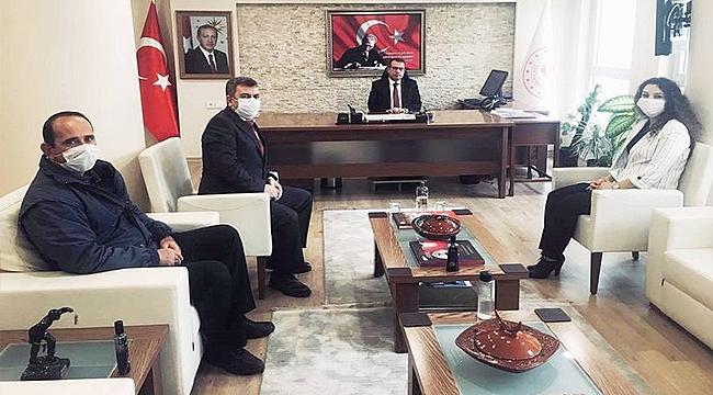 PTT'NİN 180. KURULUŞ YILDÖNÜMÜNDE MAKAM ZİYARETİ