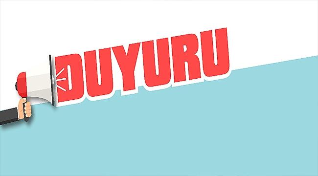 ÇANAKKALE BELEDİYESİ'NDEN DUYURU!