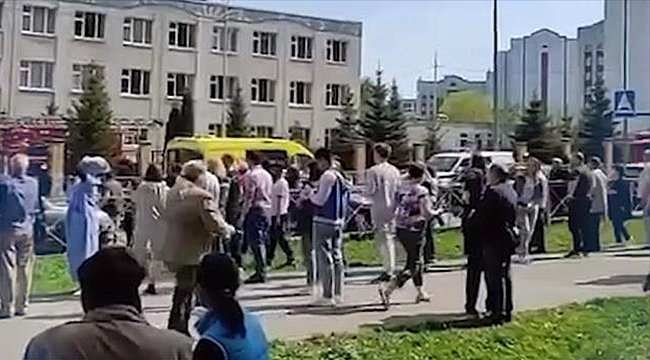 RUSYA'DA OKULA SİLAHLI SALDIRI!