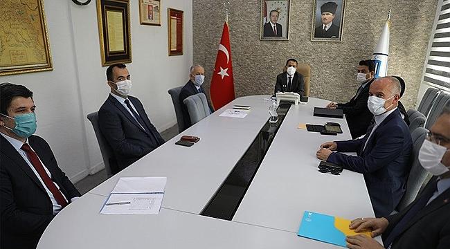 SOSYAL DESTEK ÖDEMELERİNİN DAĞITIMI KOORDİNASYON TOPLANTISI YAPILDI!
