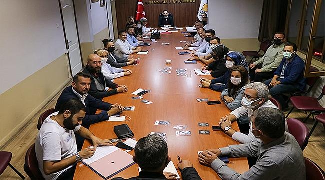 AK PARTİ İL TEŞKİLATI İSTİŞARE TOPLANTISI YAPILDI