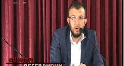 Gündem Referandum 7. bölüm Umurbey Belediye Başkanı Sami Yavaş 03 Nisan 2017 tarihli yayın...