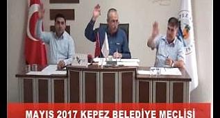 Kepez Belediyesi Mayıs 2017 Meclisi