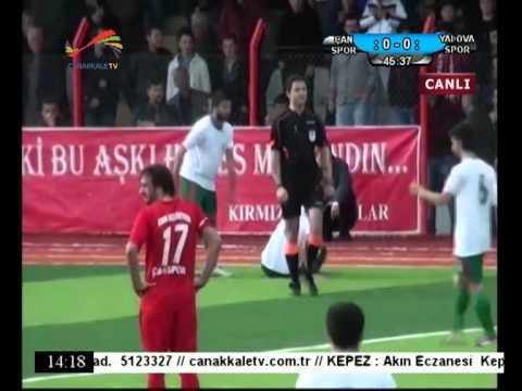 Çanspor - YalovaSpor Maçı ve Ropörtajları - Çanakkale Televizyonu